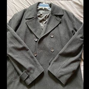 Claiborne Pea Coat - Men's XL